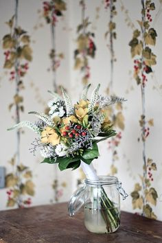 festival style wedding flowers