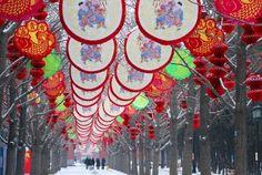 Fair outlook at Ditan Park, Beijing