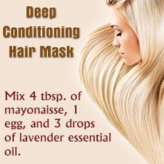 Home Remedies for Dry Damaged Hair. Click here for more home remedies!! :)