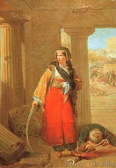 Nicolas-Louis-Fran-çois Gosse - Eine griechische Heldin