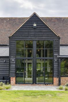 Barn Windows, External Doors, This Is Us, Garage Doors, New Homes, Exterior, Cabin, Traditional, House Styles