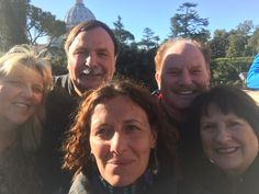 How great is this selfie of our guide with our clients on October 24th! We are so happy that our clients got our exclusive access and got to see Vatican Museums and Sistine Chapel before the busy crowds! For more information on our Vatican Early entrance tour:tour:www.livitaly.com/tour/early-entrance-vatican-small-group-tour/?src=pinterest