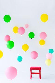 DIY Balloon Photo Booth