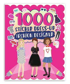 Loving this Fashion Designer Sticker Book on #zulily! #zulilyfinds