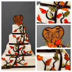 Rustic has been a huge trend for us this wedding season. How do you like it? #ontrend #carlosbakery