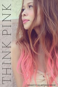 Think Pink! Light pink ombre