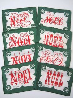 vintage napkins