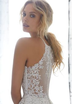 Latest Free of Charge AF Couture by Morilee 1702 Kayleigh Lace Halter Ball Gown Wedding Dress Tips Lovely Wedding Dresses ! The existing wedding dresses 2019 contains a dozen different dresses in the Sheer Wedding Dress, Western Wedding Dresses, Wedding Dresses Photos, Classic Wedding Dress, Perfect Wedding Dress, Tulle Wedding, Bridal Wedding Dresses, Wedding Dresses With Straps, Bridal Gown