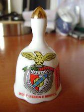Porcelain Bell Portugal Lisbon Sport Lisboa e Benfica Ceramic BELL