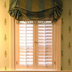 1000 images about bathroom window covering ideas on for Should plantation shutters match trim