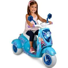 Disney Frozen 6-Volt ATV Battery-Powered Operated 3 Wheel Wheeled Scooter Tricycle Bike