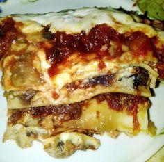 Kosher Veggie Lasagna with a Little Greek Kick | from Retirement Yenta