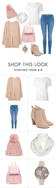 """Untitled #979"" by kayla250 ❤ liked on Polyvore featuring MANGO, R13, George, Michael Kors, Calvin Klein, UGG and Olivia Burton"