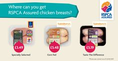 Do you know where to buy RSPCA Assured-labelled chicken in your area? Just enter your postcode on our nifty map!