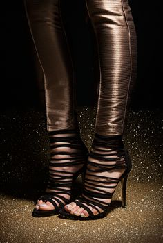 Stand out in our women's party shoes! From glitter to metallic, we've got your Christmas party shoes covered. Hot Heels, Party Shoes, Ladies Party, Peep Toe, Boots, Women, Fashion, Crotch Boots, Moda