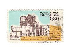Ruínas de São Miguel das Missões. Brasil, 1973.