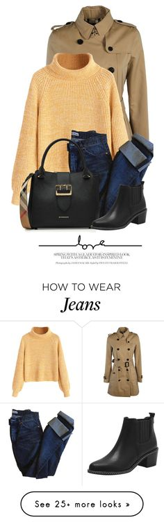 """""""21:50"""" by monmondefou on Polyvore featuring Burberry and Acne Studios"""