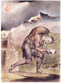 To Be a Pilgrim | William Blake, A Christian Reading in His Book, from Blake's watercolour illustrations to John Bunyan's A Pilgrim's Progress