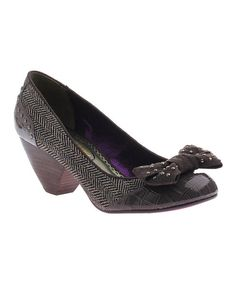 Look at this Pewter All Too Much Pump on #zulily today!