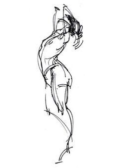 Hampton, Michael - gesture drawing