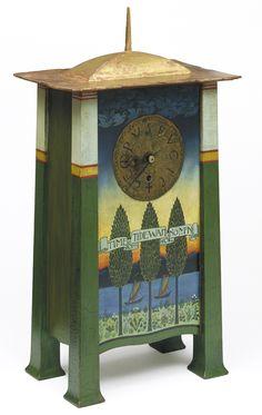 Clock - Charles Francis Annesley VOYSEY (1857-1941)