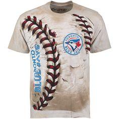 MLB Toronto Blue Jays Hardball Tie-Dye T- Shirt - Cream