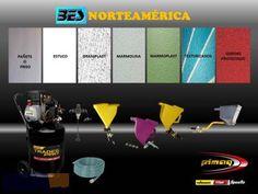 Equipo para proyectar pañetes, graniplast, estucos y corcho Desktop Screenshot, Advertising