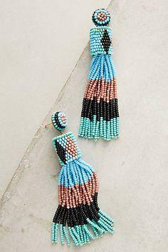 Leotie Beaded Drop Earrings