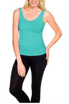 This bra friendly tank is a must have piece!!! This is a perfect staple in everyone's wardrobe that comes in a rainbow colors. This is women's favorite layering piece . This Tank is soft seamless and flatters and frames anybody . Wear this to your favorite workout venue too !!!   Best Basic Tank  by Styles Boutique. Clothing - Tops - Tees & Tanks Boca Raton, Florida