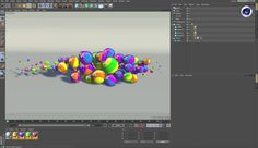 Different ways to cache MoGraph animation in Cinema 4d, Cinema 4D Tutorials, c4d, cinema 4d, r18, release 18, sculpting, bodypaint 3d, maxon, modeling, modelling, 3d, animation, rendering