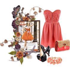 2013 Milan Strapless Dress $29.00 by mskulamshy on Polyvore