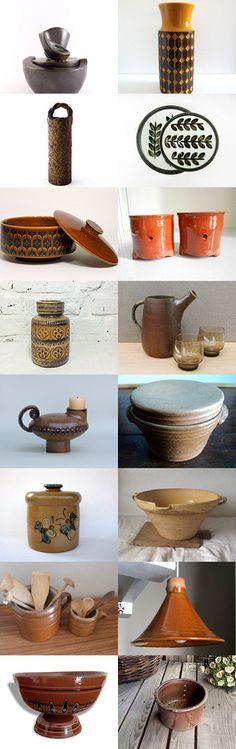 Ceramic by the Vintage France Team members by Lucile on Etsy--Pinned with TreasuryPin.com #Etsy #EtsyFR #FrenchVintage #French #vintage #VintageFinds #vintagefr #ceramic #pottery #earthenware #VintageCeramic #FrenchCeramic #FrenchPottery