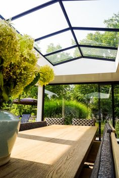 NEEM CONTACT OP When ancient with idea, this pergola has become going through somewhat of Open Plan Kitchen Diner, Floating Deck, Glass Extension, Jacuzzi Outdoor, Amiens, Container House Design, Garden Office, Pergola Designs, Backyard Projects