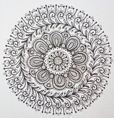 COLORING BOOK ZEN Mandalas Coloring Book Zen by ChubbyMermaid