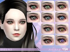 The Sims Resource: Eyes N3 by Aveira • Sims 4 Downloads