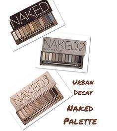 Paletas de sombras Naked da Urban Decay. Você encontra na American Beauty Store. Corre lá!