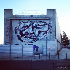 Canemorto street art Lisbon || A comprehensive street art guide of Lisbon, Portugal - Read it here: http://www.blocal-travel.com/street-art/lisbon-street-art-guide/