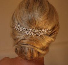 Emily Hair Rebe Hochzeit Hairvine Bridal von IvyandPearlBridal