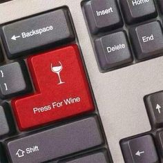 How convenient! Press for wine