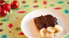 Chocolate almond banana spread by Healthful Pursuit Sugar Free Recipes, Raw Food Recipes, Carob Recipes, Primal Recipes, Chocolate Butter, Chocolate Spread, Healthy Snacks, Healthy Sweets, Healthy Cooking