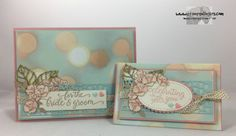 Stamps-N-Lingers.  Falling For You, Falling in Love DSP.  Wedding card and gift card holder set. https://stampsnlingers.com/2017/02/14/stampin-up-falling-for-you-gift-card-holder-for-the-share-the-love-blog-hop/