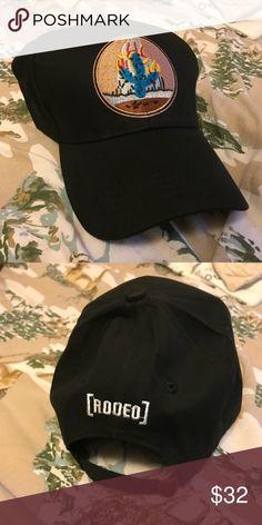 5394c0f3372 Custom Travis Scott Rodeo Flaming Cactus Dad Hat Custom made brand new  Travis Scott Flaming Cactus