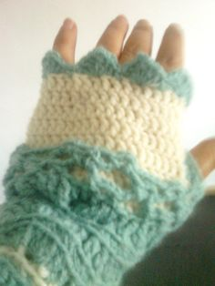 Fingerless mittens / crochet fingerless by CristinaMyCrochet, $20.00