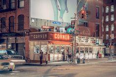 Série que retrata a fascinante auras dos luminosos de NY #fotografia #nyc #Photo #Ilovenyc #Neon #Night #foto #nycatnight #arte