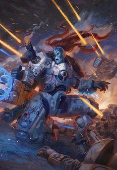 Commander Shadowsun 2 - Warhammer 40,000:Conquest by jubjubjedi on DeviantArt