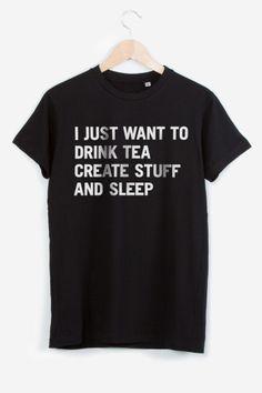 Tea Create Sleep... ptain ce site est une mine !!
