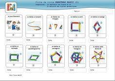 fiches de route smartmax basic en 2D, en 3D  et des défis pour les plus grands! …