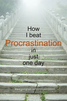 How I Beat Procrastination In Just One Day (The Staircase Technique) Time management tips Self Development, Personal Development, How To Stop Procrastinating, Time Management Tips, Business Management, Project Management, Self Improvement Tips, Keeping A Journal, That Way