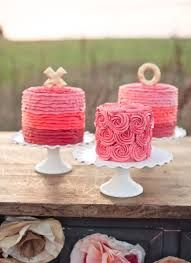 Image result for ombre buttercream wedding cakes