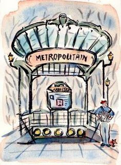 paris breakfasts: My Metro